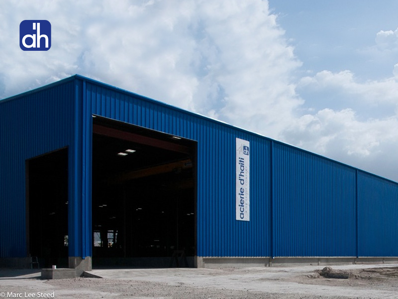 Haiti STEEL WOOD Acierie d'Haiti's new facilities - Gilbert Bigio Group