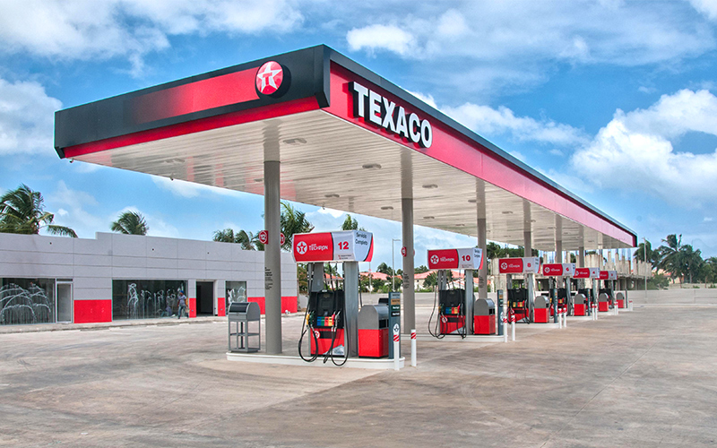 Grand Opening of Texaco's Modern Fuel Station - Gilbert